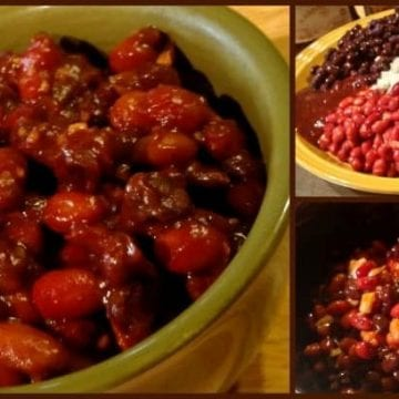 Crock Pot Baked Beans! Find this & more @ https://www.slowcookerkitchen.com