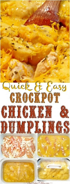 chicken and dumplings crock pot