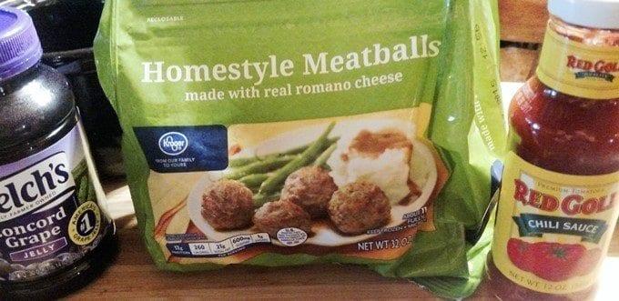 crockpot meatballs