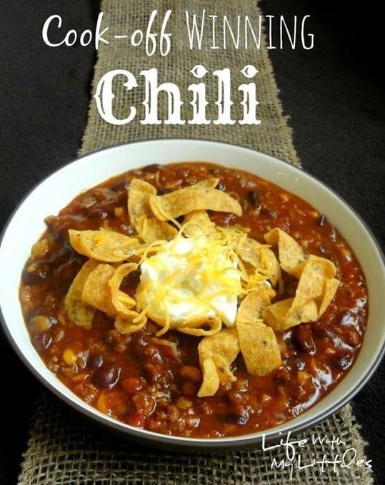 cook off winning chili