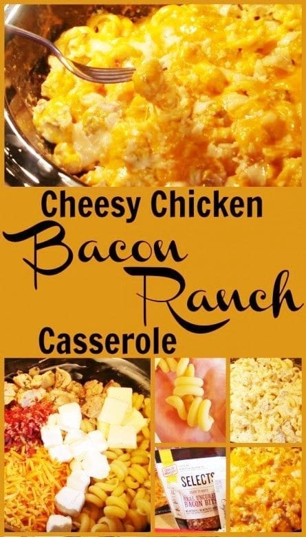 Chicken Bacon Ranch Casserole From Slow Cooker Kitchen