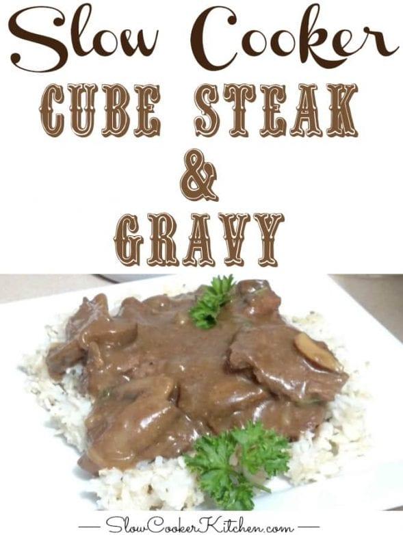 Slow Cooker Cube Steak
