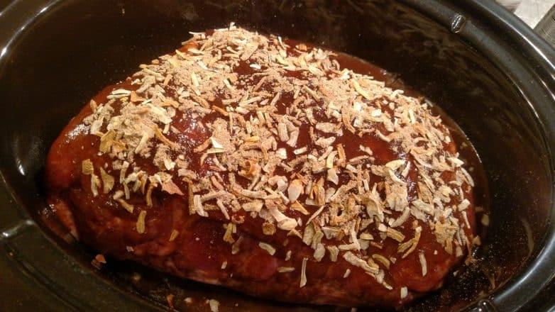 Crock pot pork roast slow cooker kitchen for Crock pot thanksgiving dessert recipes
