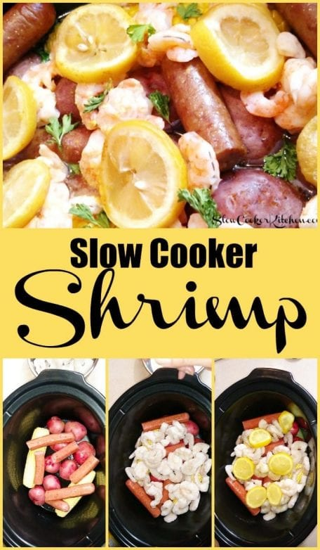 Slow Cooker Shrimp and Sausage Dinner