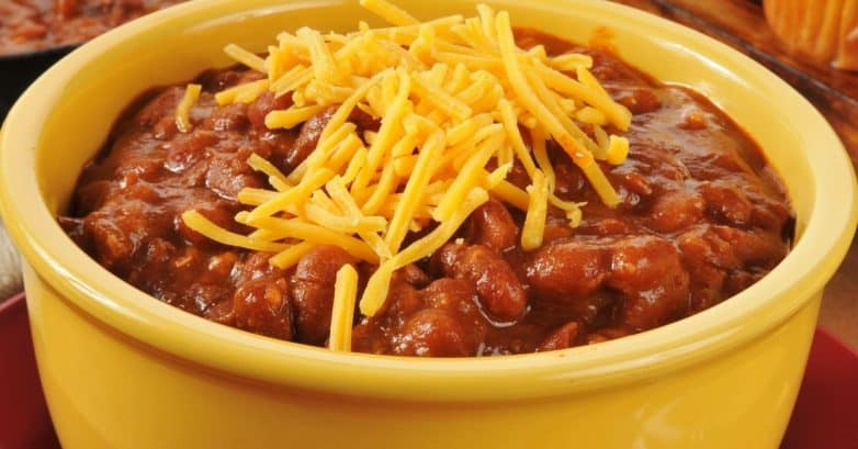 And it's great all on its own BUT why not make some sloppy chili-cheese dogs? Or chili-cheese fries? Kids love this type of stuff. Well, kids too.