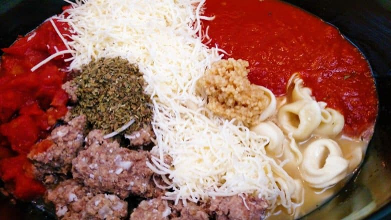 Crock Pot Tortellini