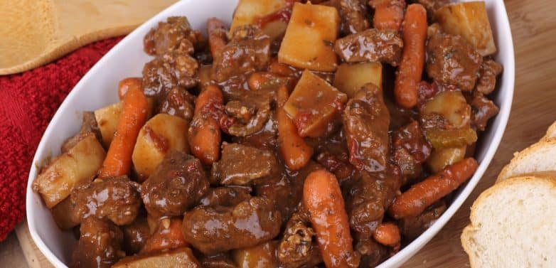 Ranch Crockpot Beef Stew Recipe Slow Cooker Kitchen
