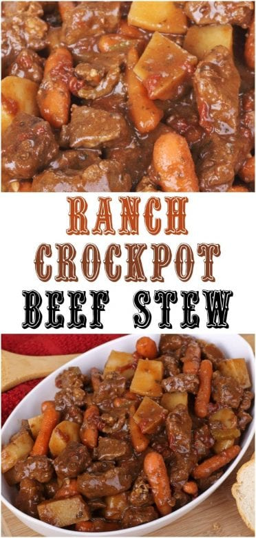 Ranch Crockpot Beef Stew