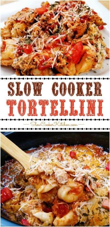 Slow Cooker Tortellini