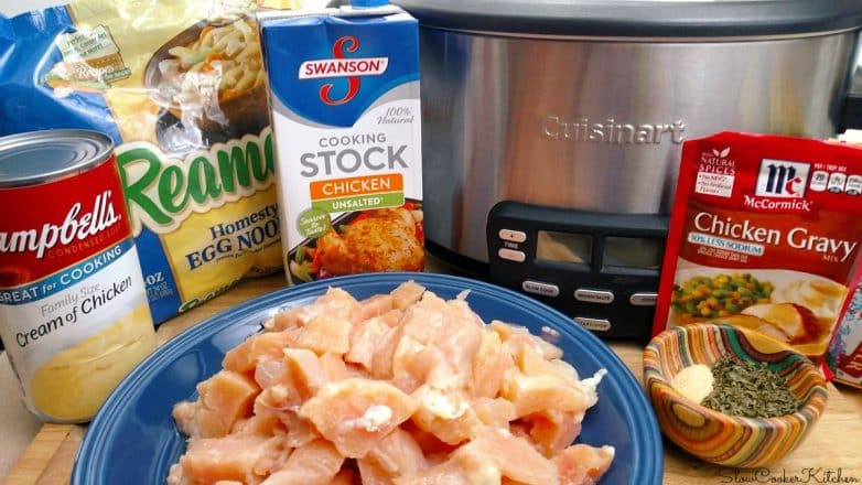 Chicken and Noodles Crock Pot Recipe