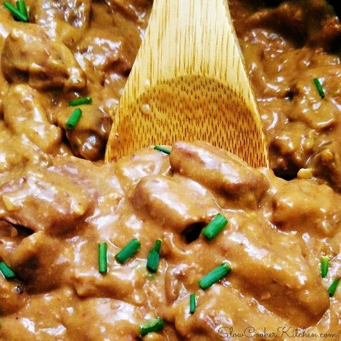 Crock Pot Beef Tips