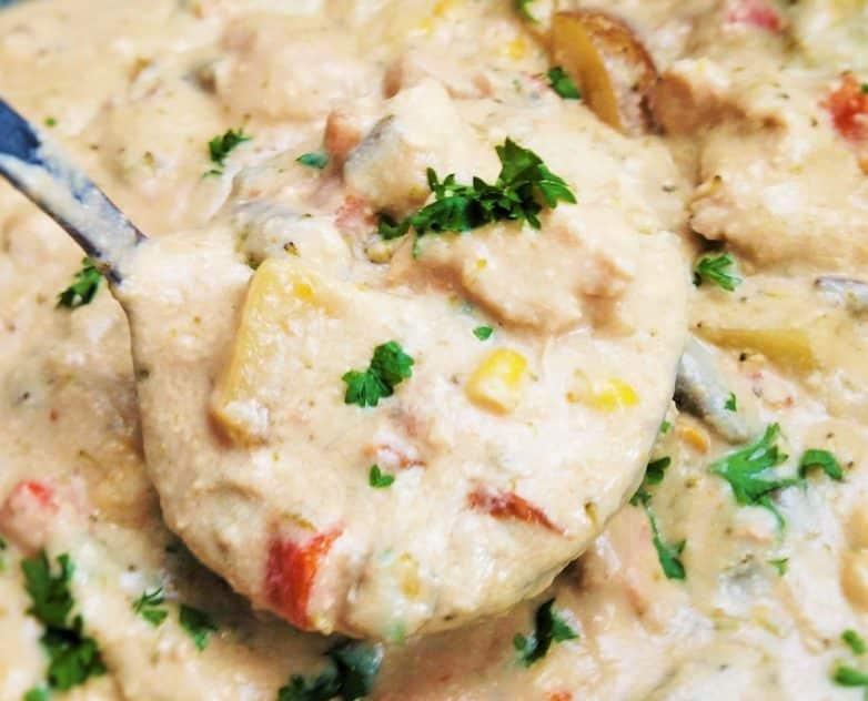 Crock Pot Chicken Pot Pie Soup