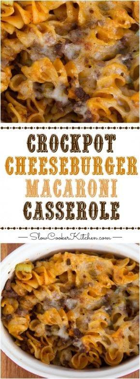 Creamy, cheesy slow cooker deliciousness! Crock Pot Pasta | SlowCookerKitchen.com | https://www.slowcookerkitchen.com