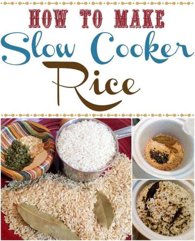 Slow Cooker Rice