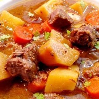 Classic Crock Pot Beef Stew
