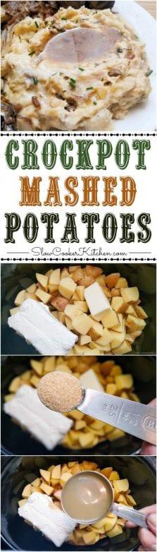 country style crockpot mashed potatoes