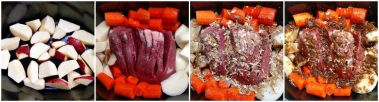 french onion crock pot pot roast step by step