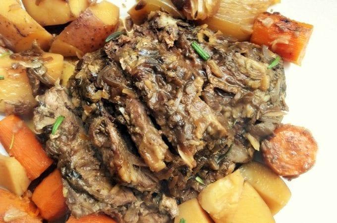 crock pot pot roast step by step