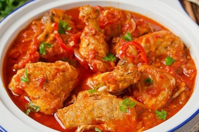 5 ingredient crock pot mexican chicken dish