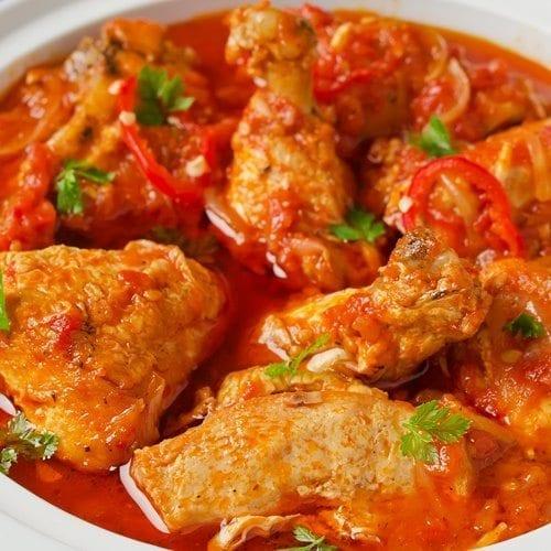 Crock Pot Mexican Chicken close up