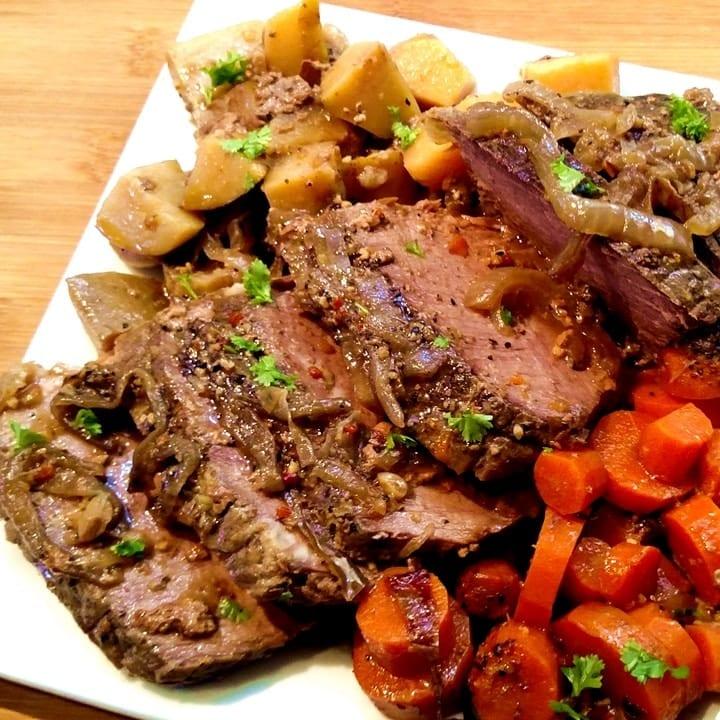 how to make roast beef in crock pot
