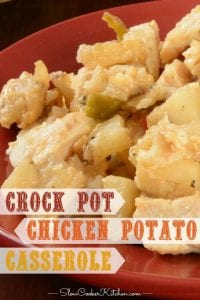 slow cooker chicken and potatoes casserole