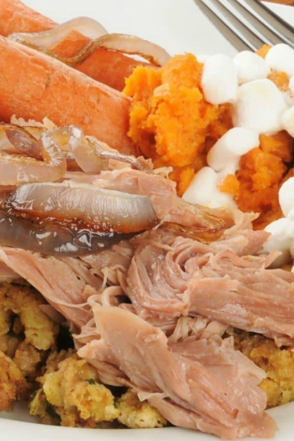 Crock pot turkey recipes slow cooker kitchen for Crock pot thanksgiving dessert recipes