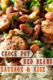 Deliciously Authentic Crockpot Red Beans and Rice