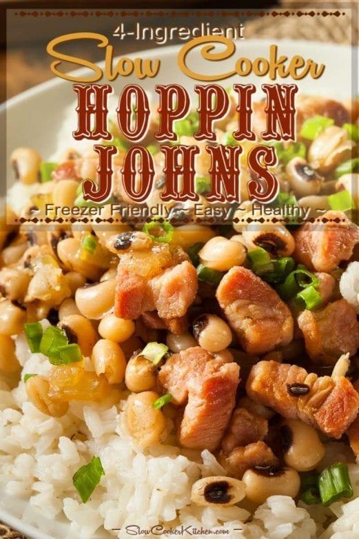 Crockpot 4-Ingredient Hoppin John