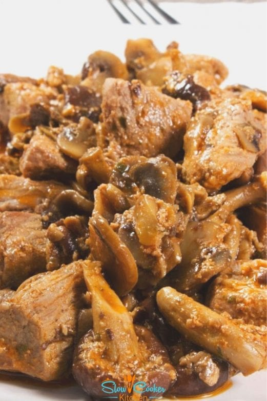 Amazingly easy, kid friendly instant pot beef and mushroom! With slow cooker, stovetop, pressure cooker, & freeze ahead directions!