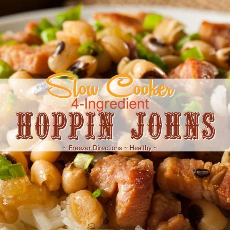 Slow Cooker 4-Ingredient Hoppin John