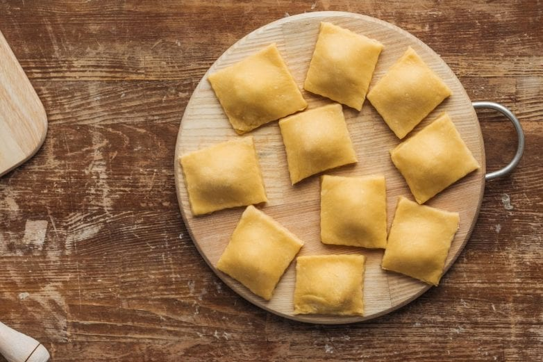 Finished Image of Homemade Ravioli Recipe