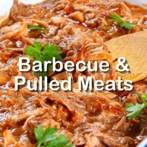 Pulled Pork and BBQ in Crock Pot