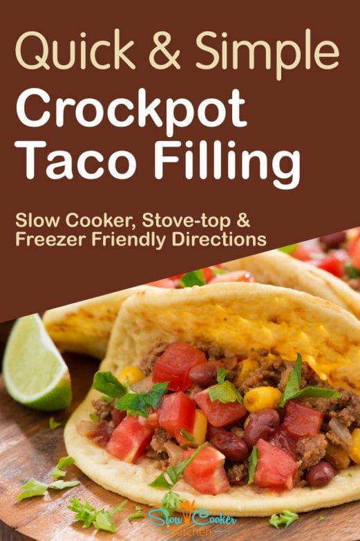 Super tasty, cheap and easy instant pot tacos! With slow cooker, oven-baked, pressure cooker, & freeze ahead directions!