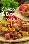 Quick and easy, super tasty how to make beef tacos! With slow cooker, skillet, pressure cooker, & freezer meal directions!