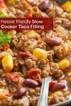 Cheap and tasty, quick and easy taco meat! With crockpot, stovetop, pressure cooker, & freezer meal directions!